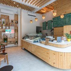 | Me Gusta Divider, Loft, Bed, Furniture, Home Decor, Cafeteria Decor, Sao Paulo, Arquitetura, Cafe Interior Design