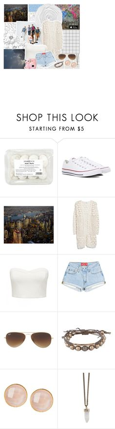"""""""Reflections // MisterWives"""" by poppunk-serious-princess ❤ liked on Polyvore featuring Converse, MANGO, Forever New, Ray-Ban, Tai, Saachi, Givenchy and Fujifilm"""