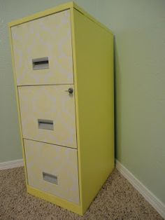 Young and Crafty: A New Filing Cabinet