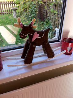 Tilda rocking reindeer 2013.