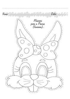Malvorlage: Coloring pages for kids mask Easter Colouring, Colouring Pages, Free Coloring, Coloring Pages For Kids, Kids Coloring, Easter Projects, Easter Crafts For Kids, Easter Art, Easter Bunny