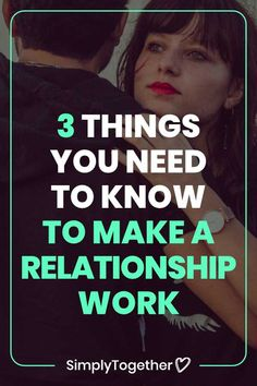 There are many skills you can learn that improve your relationship. But there are 3 that you should definitely focus on first. These are the most important because they will guarantee the wellbeing and survival of your relationship. Making A Relationship Work, Relationship Advice, Relationships, Need To Know, Improve Yourself, Survival, Marriage, Activities, Learning