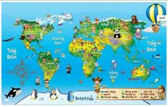 Preschool Education, Coloring Pages, World, Poster, Kids, Center Ideas, Travelling, Cactus, Google