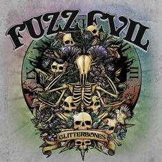 "Album Cover by Erick M Gonzaga Album: Fuzz Evil / Chiefs 7"" (FE Side) Band: Fuzz Evil Year: 2014"
