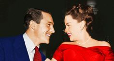 photoshopped pic of Gene Kelly and Judy Garland