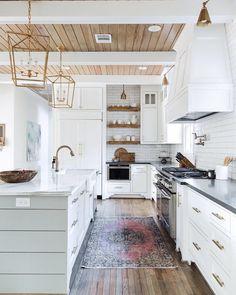 White kitchen with w