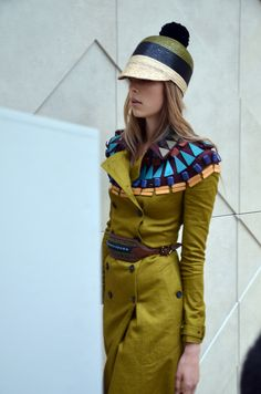BURBERRY SPRING/SUMMER 2012 FASHIONSHOW IN LONDON