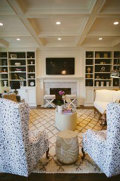 Classic, chic living room