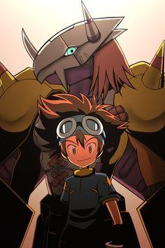 Digimon - Tai and Wargreymon