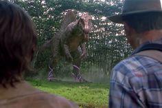 Paródia coloca todo mundo de salto alto em 'Jurassic Park' – até os dinossauros ;-) - Blue Bus