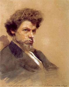Portrait of the Artist V.M. Maksimov,   Ivan Kramskoy