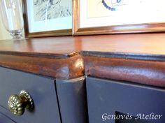 Sobre mueble modernista Genoves Atelier
