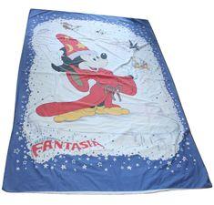 Vintage Disney Fantasia Mickey Duvet Cover