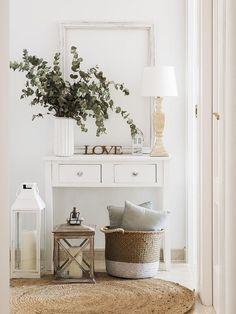 15 New Ideas Farmhouse Livingroom Decor Garage Decoration Bedroom, Hallway Decorating, White Bedroom Furniture, Home Furniture, Furniture Design, Living Room Modern, Living Room Decor, Decor Room, Dining Room Paint Colors