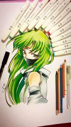 old one C.C from Code Geass Drawing. yeah this one is old but my fvrt drawing ever and this is also my first copic try i hope u guys like this click on this pic and watch my drawing Videos i hope u guys like this :)