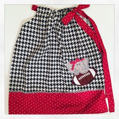 A personal favorite from my Etsy shop https://www.etsy.com/listing/250860292/alabama-houndstooth-pillowcase-dress