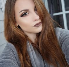 """melissa looks gorgeous in our new Lip Lingerie in the color """"Honeymoon"""". Nyx Makeup, Kiss Makeup, Love Makeup, Beauty Makeup, Makeup Looks, Hair Makeup, Hair Beauty, Nyx Lip Lingerie, Glamorous Makeup"""