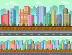 Buy City Game Background by IncredibleArt on GraphicRiver. Vector city game background vector - Fully editable - Easy to change color - Resizable - Vector objects are gro. Magazine Design, Free Game Assets, Game Background, Cartoon Kids, Free Games, Game Design, Color Change, Design Inspiration, Adventure