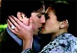 """""""Notting Hill"""" (1999)--This romantic comedy about mismatched lovers was set in London, and told of the circuituous route of the ultimately successful romance between American movie superstar Anna Scott (Julia Roberts) and Notting Hill's recently-divorced travel bookshop owner William Thacker (Hugh Grant)"""