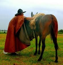 Gaúcho e cavalo Rio Grande do Sul-Brasil