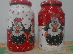 Painted Milk Cans, Painted Jars, Jar Crafts, Bottle Crafts, Diy And Crafts, Mason Jar Gifts, Mason Jar Diy, Bottle Painting, Bottle Art