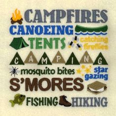 Camping Collage - 5x7