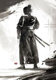 Samurai Concept Art and Illustration Ronin Samurai, Samurai Warrior, Ninja Warrior, Fantasy Male, Fantasy Samurai, Japanese Culture, Japanese Art, Japanese Dragon, Images Colibri