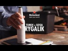 To celebrate Heineken's Your Future Bottle competition, we asked Polish designers Tomek & Gosia Rygalik to come up with a design of their own. Coffee Maker, Designers, Kitchen Appliances, Heineken, Coffee Maker Machine, Diy Kitchen Appliances, Coffee Percolator, Home Appliances, Coffee Making Machine