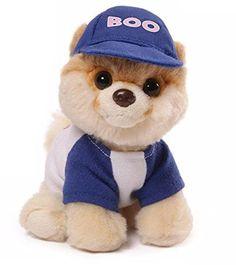 5 Itty Bitty Boo the World's Cutest Dog Baseball Themed Children's Plush Stuffed Animal #031