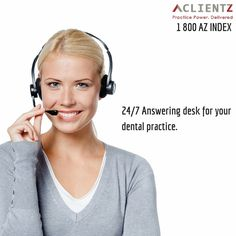 24/7 Answering desk for your dental practice.  ‪#‎Virtual_Office‬