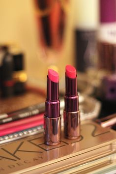 Urban Decay Catfight & Anarchy - my favorite pink shades - Carrie Bradshaw Lied