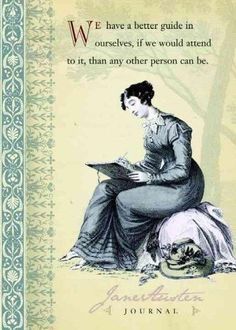 Aspiring writers will find encouragement in the free-thinking attitude of Jane Austen. Her refreshing outlook abounds in a journal peppered with humorous pairings of illustrations and quotes from her