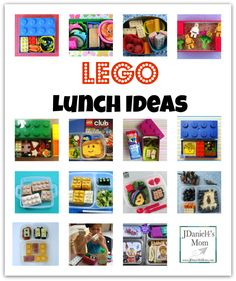 Lunch Ideas With LEGOS