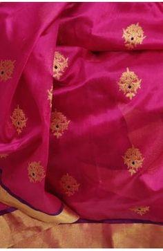 Buy Off White Handloom Kanjeevaram Pure Silk Saree Kanjivaram Sarees, Silk Sarees Online, Pure Silk Sarees, How To Look Classy, Saree Wedding, Office Wear, Alexander Mcqueen Scarf, Off White, Sari