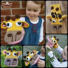 My first puppets: Geraldine Giraffe - £2.80 by Heather C Gibbs of Keep Calm and Crochet On UK