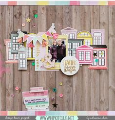Have you received your #december2016 #hipkits? Fussy cut the windows from the Take Me Away paper just as designer @adriennealvis has done! More details on our blog!  @hipkitclub #hkcexclusives #exclusives #hipkitexclusives @pinkpaislee #takemeaway @paigetaylorevans #PPtakemeaway #hipkitclub #fussycutting #papercrafting #papercrafting #kitclub #scrapbookingkitclub