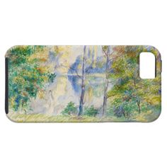 #view of a #park by Pierre-Auguste #renoir #art #cases #iphone 5/5s #iphone5 #iphone5s #impressionism #landscape #watercolor