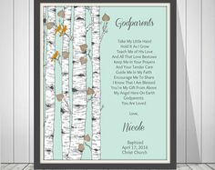Godmothers and Godfathers Baptism and Christening by StampsofLove4