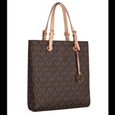 Authentic Michael Kors Laptop Tote Handbag