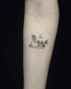 414cc160f ejemplos de tatuajes-minimalistas con fuerte significado inspirados en la  cultura del antiguo Egipto,