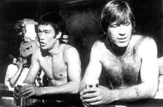 Bruce Lee y Chuck Norris (1972)