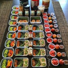 Meal prep week 97 ✔️Breakfast Protein shakes Cage free liquid egg whites ✔️Lunch Lean ground turkey seasoned with Chipotle seasoning topped with jalapeños Baked sweet potatoes seasoned with Everything Spicy seasoning Baked.Tasteful Healthy L Lunch Meal Prep, Healthy Meal Prep, Healthy Snacks, Healthy Eating, Healthy Lunch Ideas, Low Carb Meal, Keto Meal, Fitness Meal Prep, Fitness Nutrition