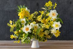 Spring: Yellow Arrangement from Color Me Floral