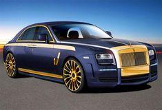2012 Rolls-Royce Artist Gold Concept Car