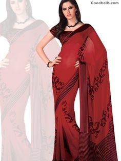 Rust Abstract Pattern Saree is available in just $40.00 at Goodbells. Click here to buy: http://goodbells.com/saree/rust-abstract-pattern-saree.html?utm_source=pinterest_medium=link_campaign=pin11juneR18P44