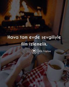 Hava tam sevgiliyle film izlemelik. (Kaynak: Instagram - k1tabe) #sözler #anlamlısözler #güzelsözler #manalısözler #özlüsözler #alıntı #alıntılar #alıntıdır #alıntısözler #şiir #edebiyat