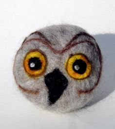 Wise Owl Felted Soap Goat Milk Soap by Engelfelt on Etsy, $13.00