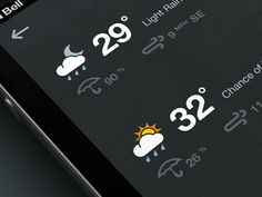 Weather_dribbble