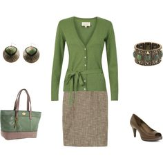 My idea of a professional job interview outfit :) Classic design, but at the same time, fun!