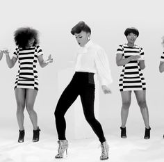 This has to put a smile on your face.  What a happy video.  Great Hair, Great wardrode and AMAZING Energy.  <3 It